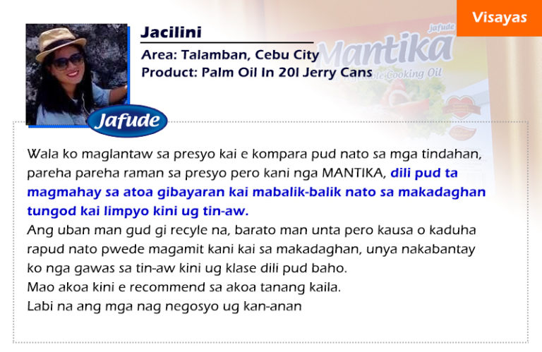 jafude mantika soybean oil and canola cooking oil review