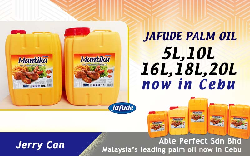 Cooking Oil Supplier in Cebu and Davao. Jafude Mantika