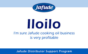 Join Jafude mantika cooking oil distributor in iloilo
