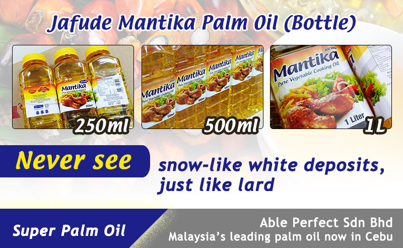 Philippines Pet Bottle Cooking Oil Supplier in Cebu-Jafude Mantika
